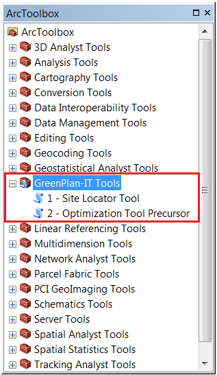 AddedGreenPlanITToolbox